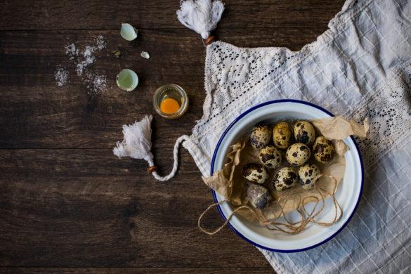 Quail egg food preparation