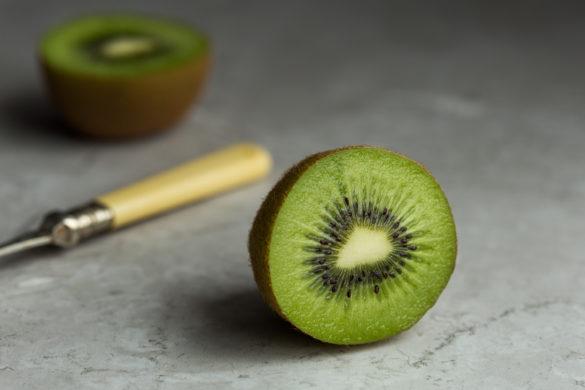 kiwi fruit on table