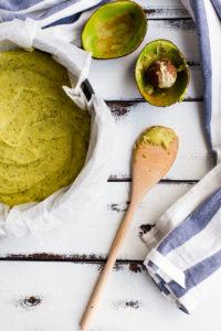 Baking Avocado Cake